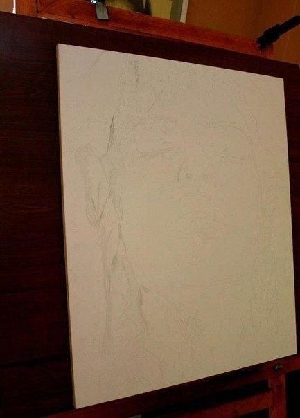 Рисует художник-гиперреалист 6