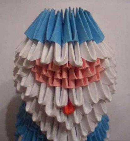 Модульное оригами 'Дед Мороз'