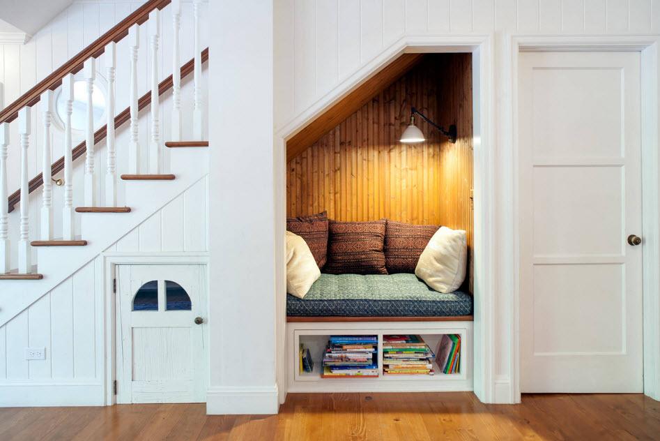 Ниши в комнате: примеры углубления в стене декоративного и практичного предназначения