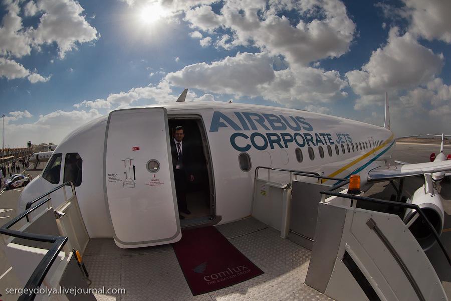 2056 Бахрейнский авиасалон: Интерьеры самолетов