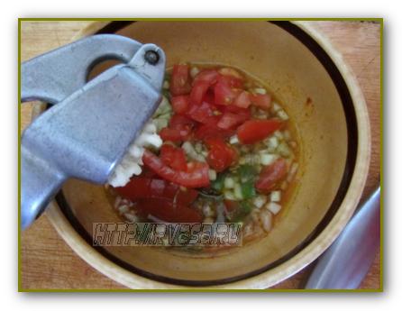 как готовить гаспачо