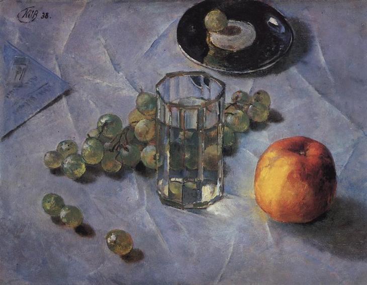 "Петров-Водкин. ""Виноград"". 1938"