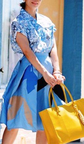 Лучшие весенние образы с платьями из модных блогов за неделю — обзор