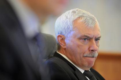 Полтавченко выступил против появления улицы Кадырова в Петербурге