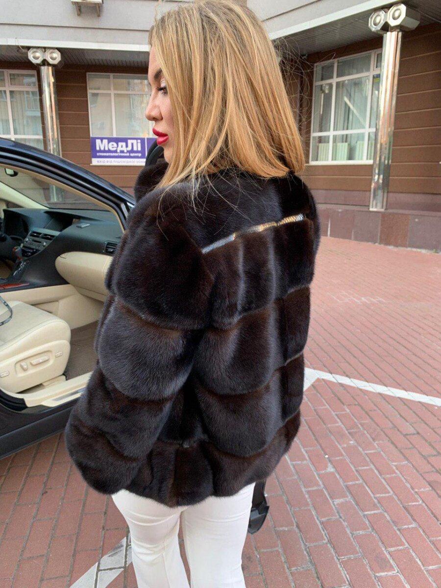 С чем носить норковую шубу? /Фото: furs-ua.com