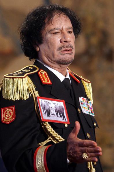 В чем «провинился» Кадаффи