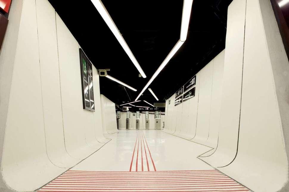MetroStations34 17 самых волшебных станций метро со всего мира