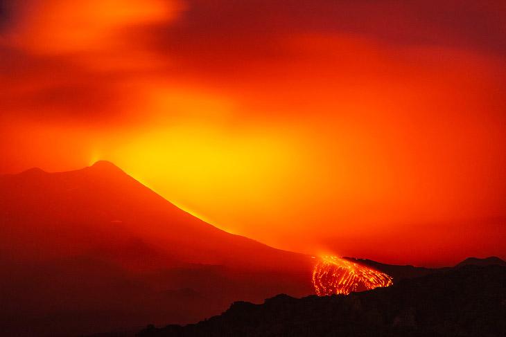 Извержения вулканов в 2018 году