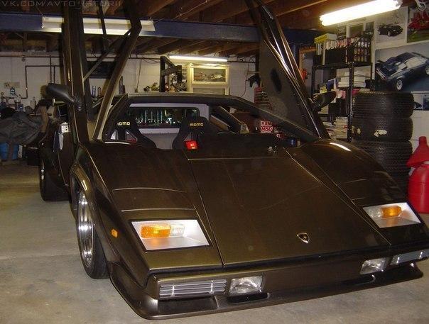 Энтузиаст собрал с нуля Lamborghini в подвале собственного дома