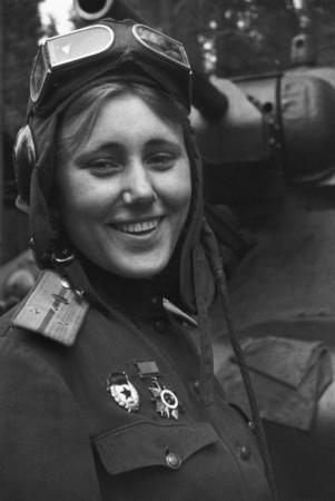 Александра Самусенко, командир танкового батальона.