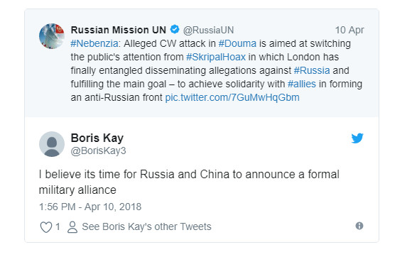 «Не волнуйся, Россия, мы поняли»: в Британии восприняли выступление Небензи как сигнал презрения