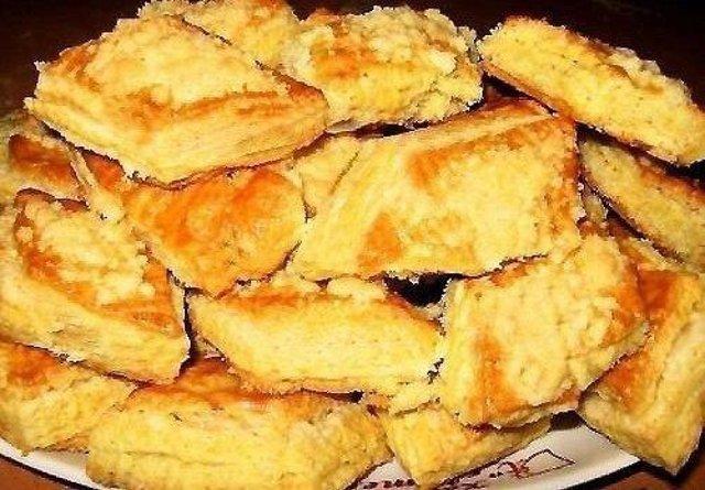Замечательное печенье на кефире. Вкусно и доступно!