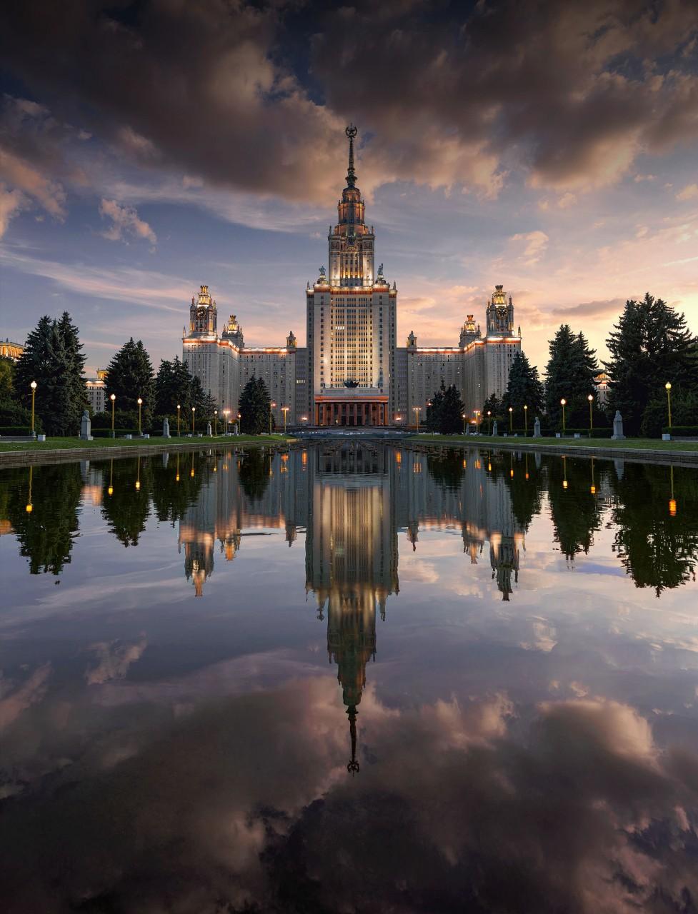 Москва в объективе Вадима Щербакова