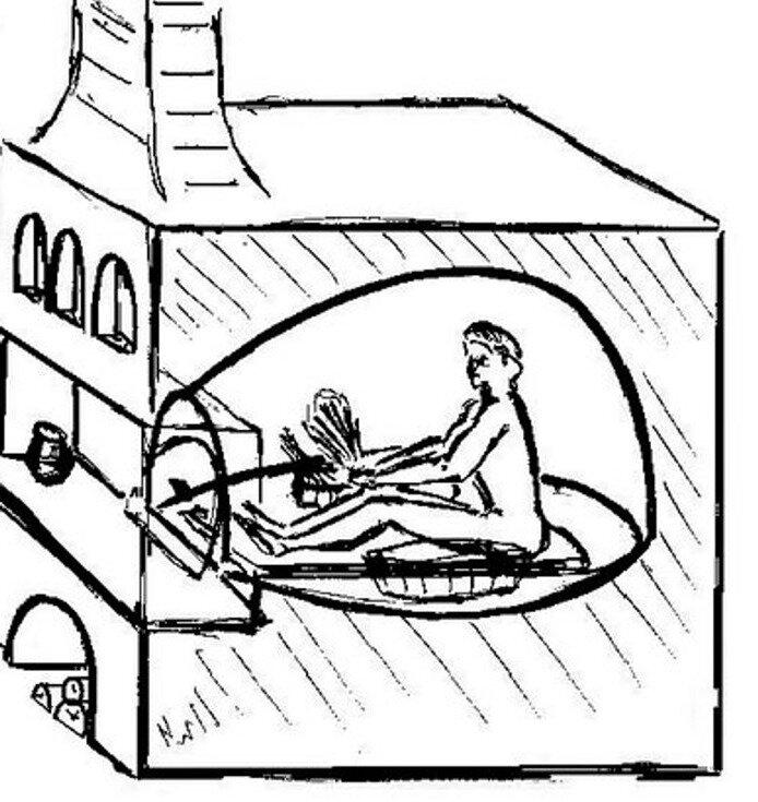 Как наши предки в печах мылись