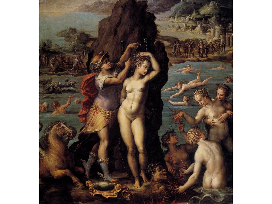 Персей и Андромеда. Джорджо Вазари, 1570 год.