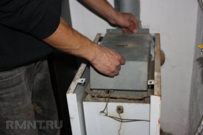 Чем почистить газовых котлов своими руками