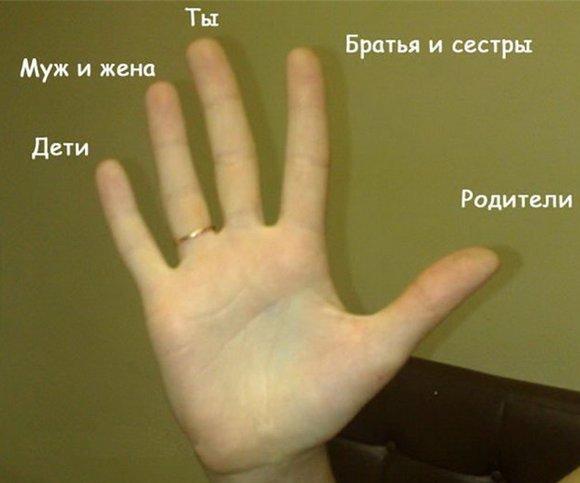 ТЕСТ НА ПАЛЬЦАХ РУК