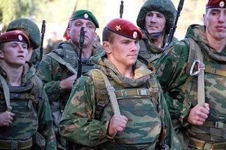 Соревнования спецназа внутренних войск МВД России
