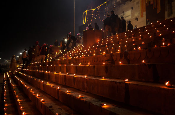 На индийском празднике Дивали установлен мировой рекорд Гиннеса