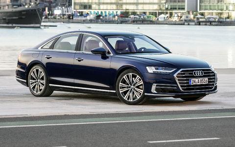 Новый Audi A8 в России: выби…