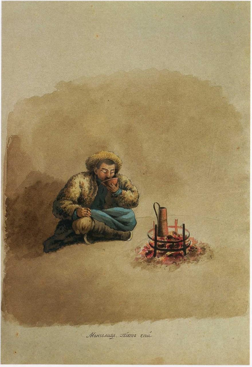 Азия начала 19 века глазами Русских художников.