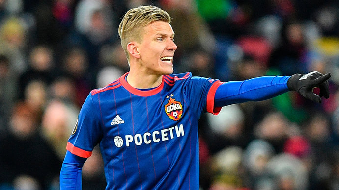 В матче ЦСКА и «Краснодара» Смолов может сыграть, а Головин с Вернблумом – нет