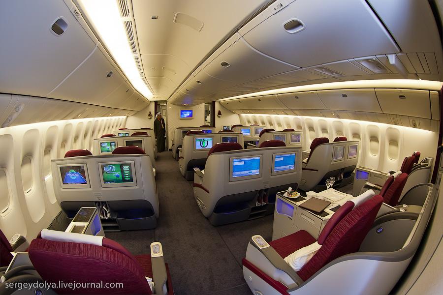 10105 Бахрейнский авиасалон: Интерьеры самолетов