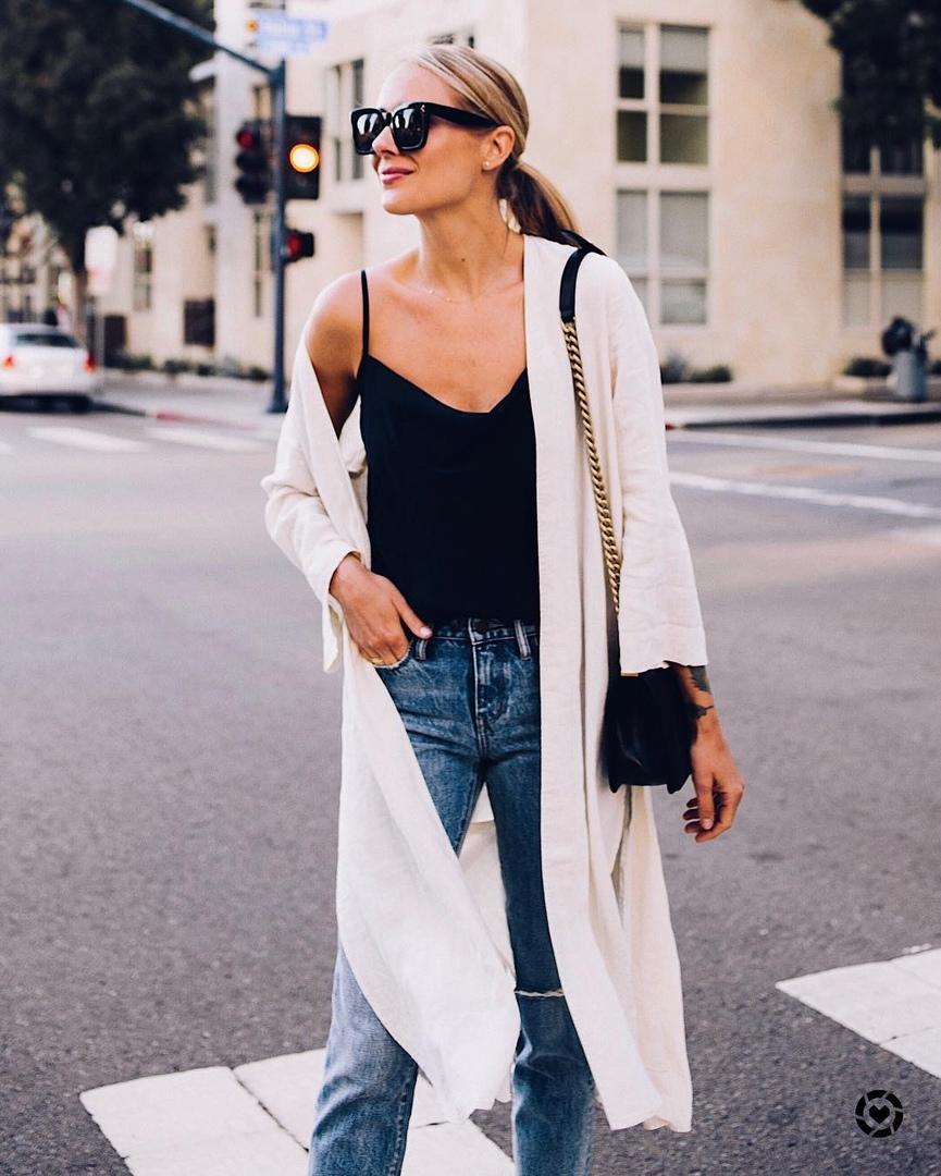 Вопрос стилисту: что носить прохладным летом и ранней осенью