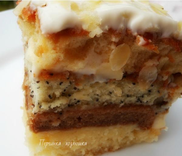 """Очень вкусный торт """"Сметанная королева"""""""