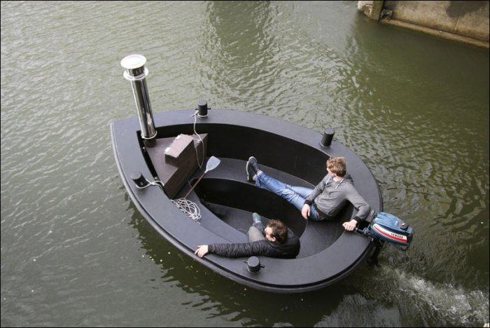 лодки из пвх труб видео