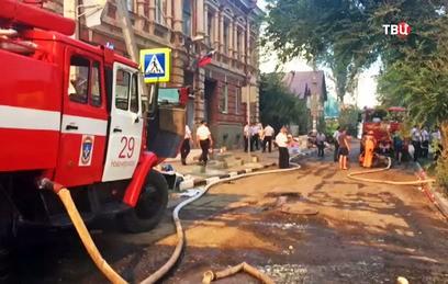 МЧС сообщило о локализации пожара в Ростове-на-Дону