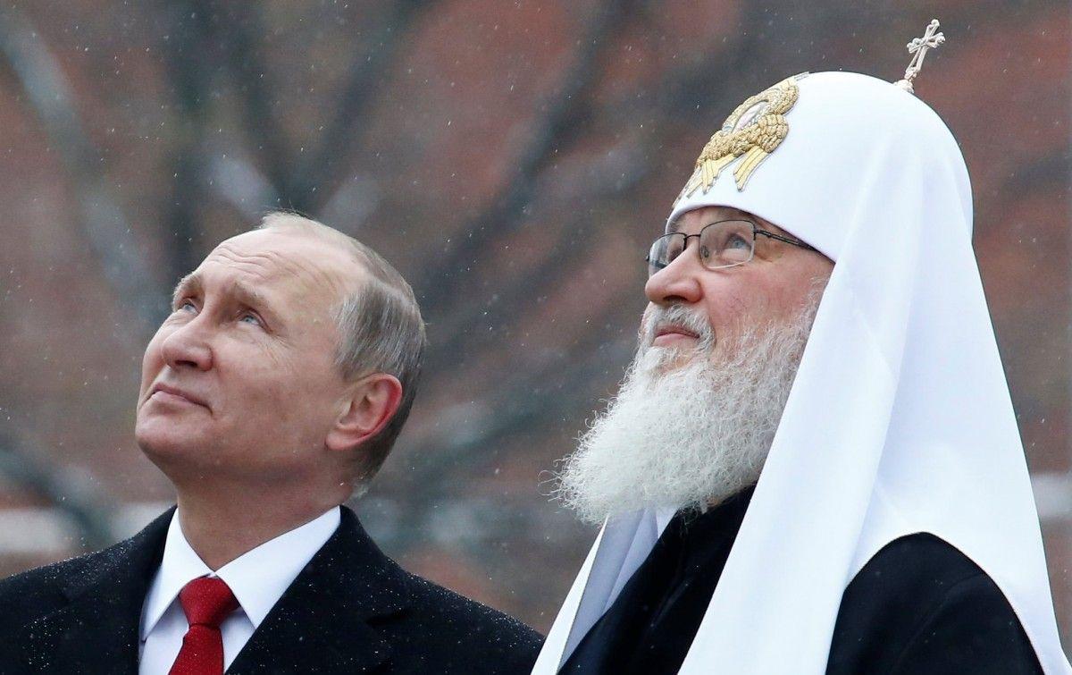 Дело нечисто: сначала Путин, теперь – Патриарх
