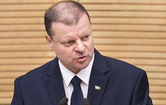 Литовский премьер призвал не разделять российский народ и Кремль