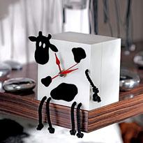 """Часы """"Корова в кубе"""". Мастер-класс"""