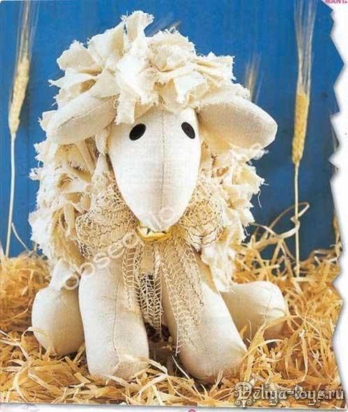 Выкройка животного. Шьем домашний скот. Выкройка овечки. Как сшить овцу. Выкройки овцы и барашка.