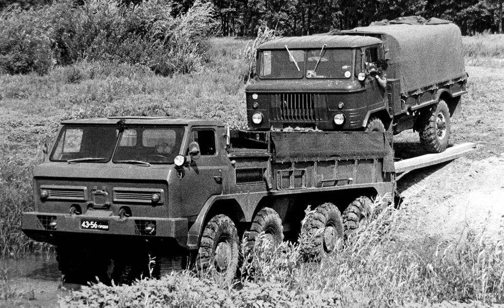 Секреты советских КБ: неизвестные вездеходы ГАЗ, не пошедшие в серию