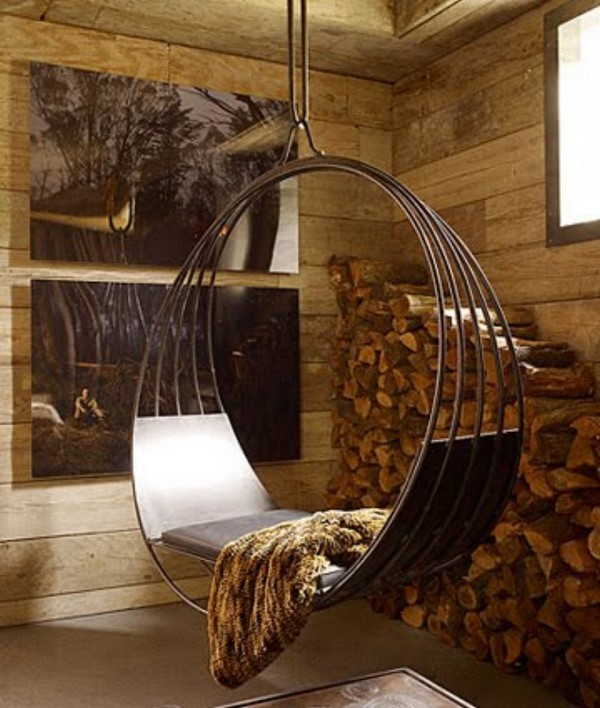 Интерьер комнаты отдыха в сауне