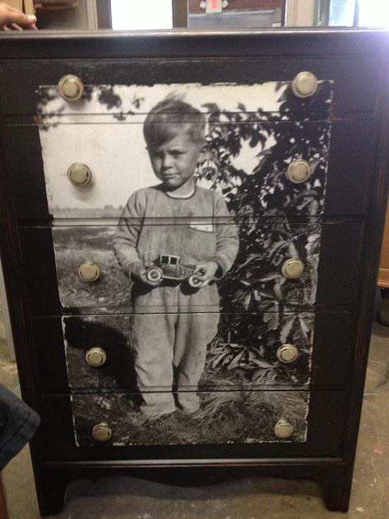 Декупаж мебели фото