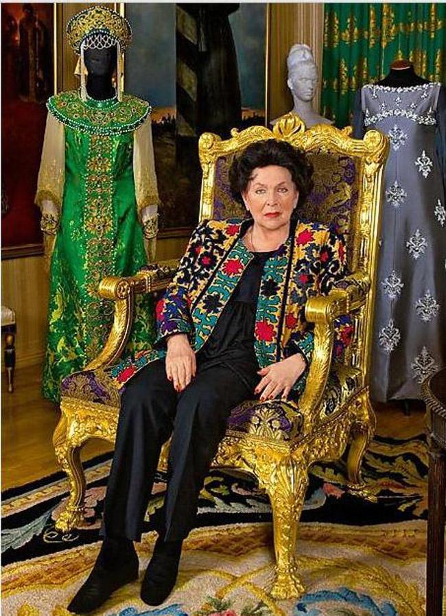 Петербургский дворец оперной дивы Галины Вишневской