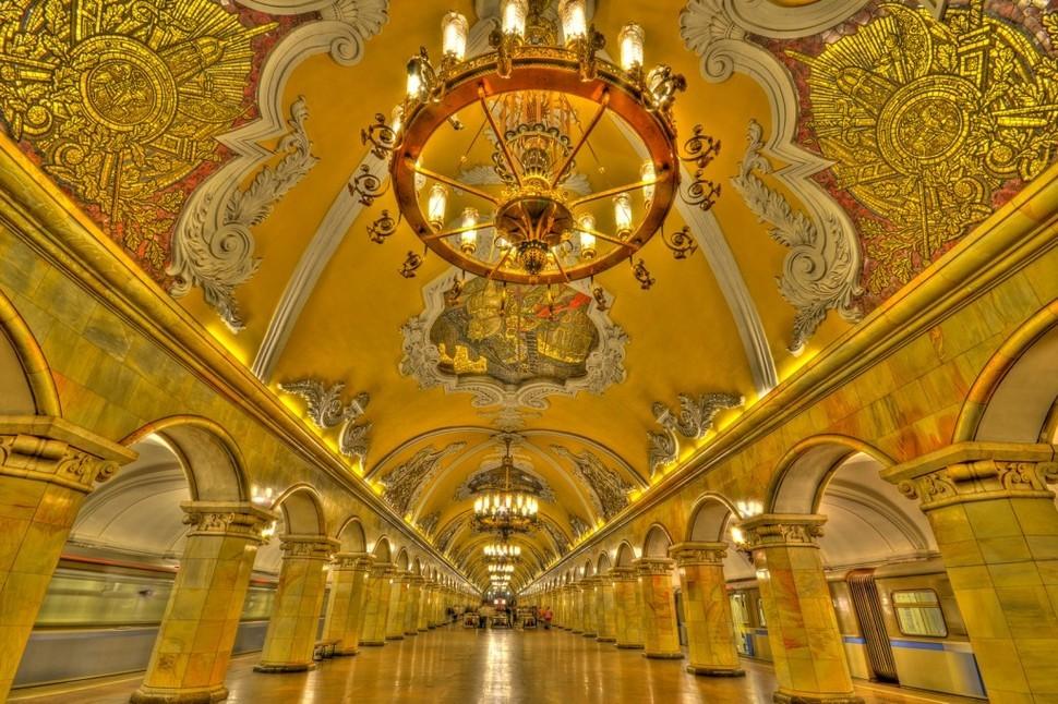 MetroStations02 17 самых волшебных станций метро со всего мира