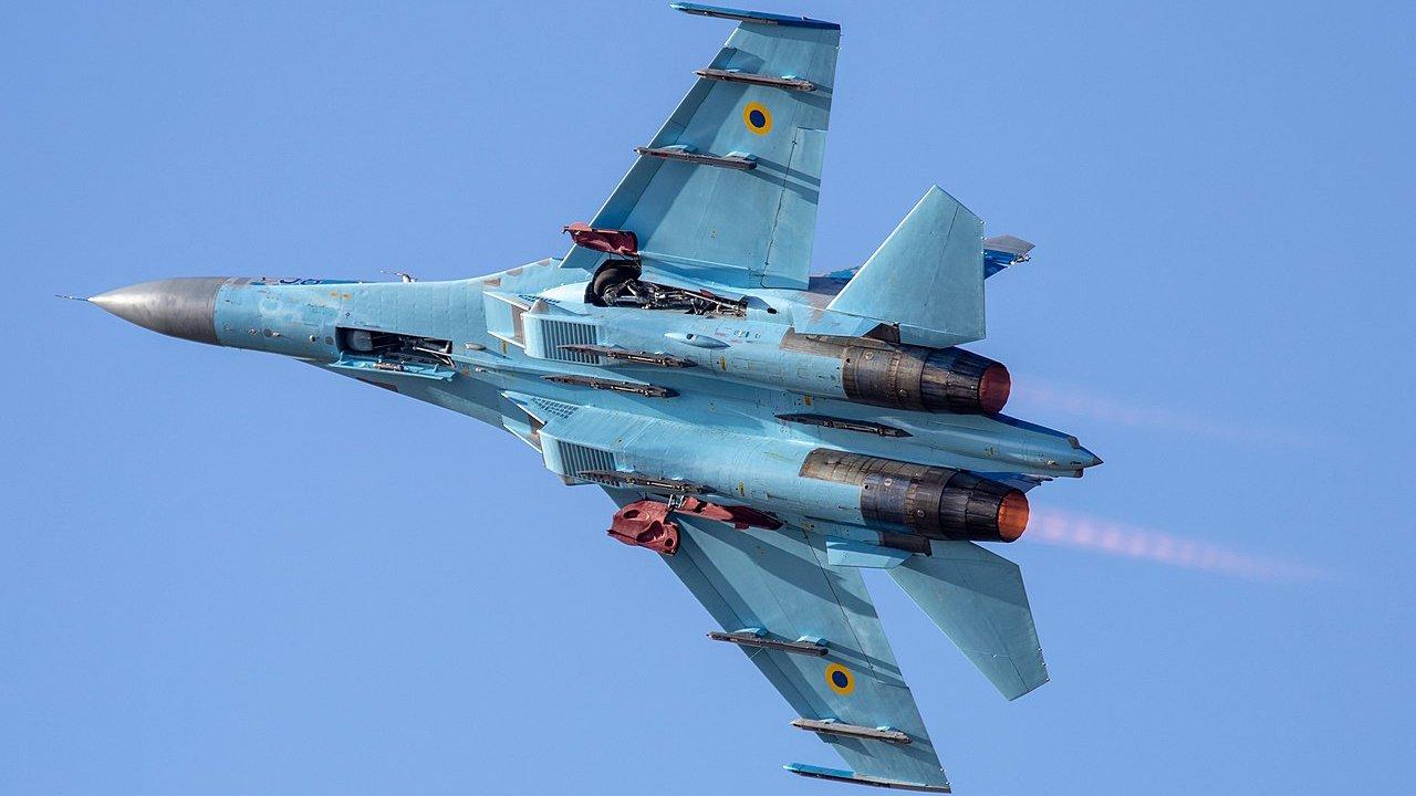 Су-27 на Украине: четыре версии крушения