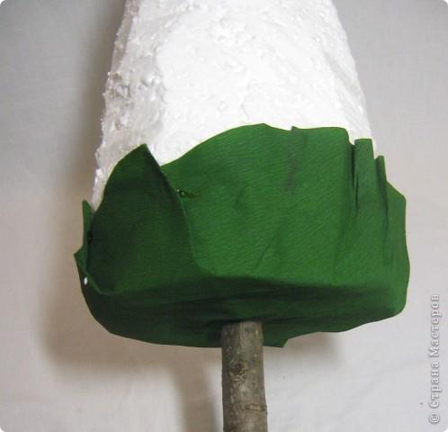 Мастер-класс, Свит-дизайн: МК елочки из конфет Новый год. Фото 9