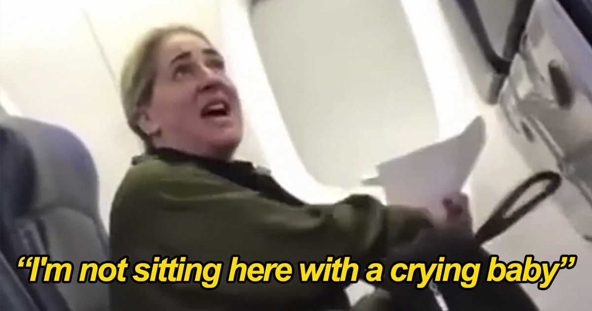 Rude Woman Demands To Be Seated Far From Crying Baby Because She's A Government Employee, Learns How Karma Works