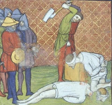 Почему король приказал казни…