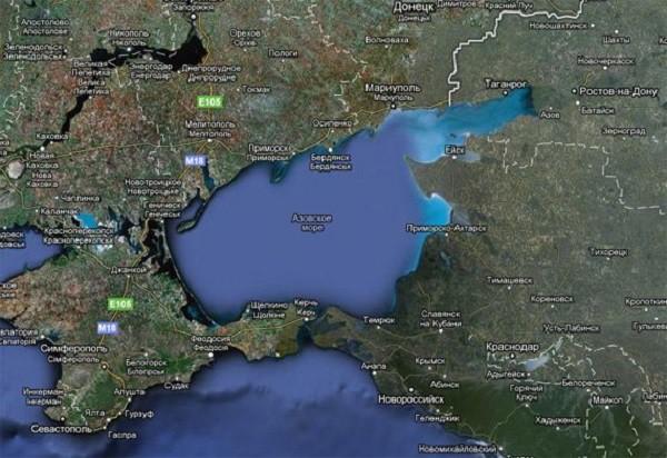 13 фактов про Азовское море(1 фото)