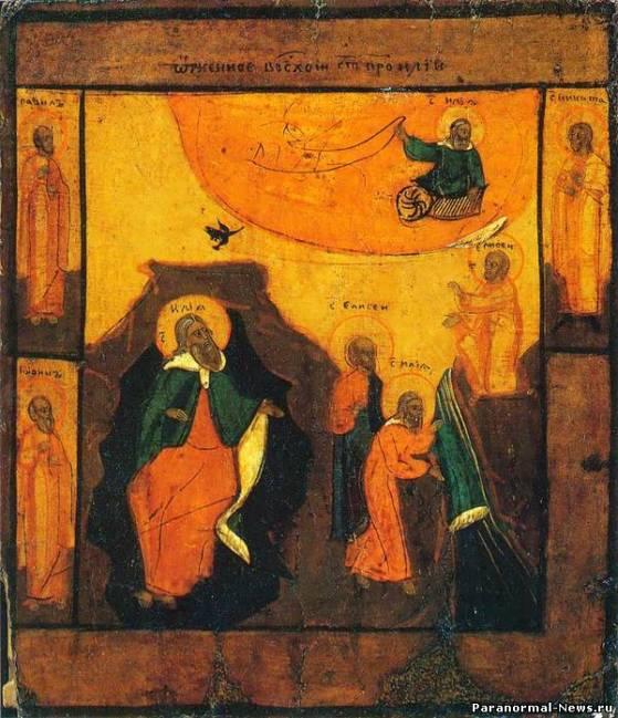 Что за Огненная колесница была у Ильи-Пророка?