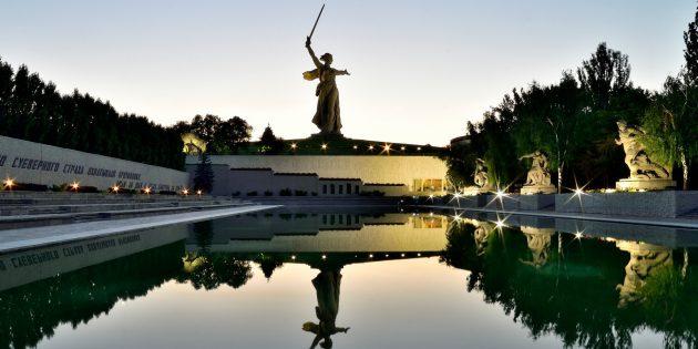 Красивые места России. Мамаев курган