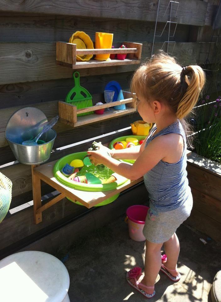 Идея для детской площадки своими руками фото