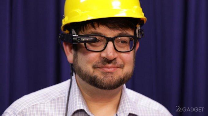 Toshiba выпустила умные очки на Windows 10 Pro (13 фото + 2 видео)