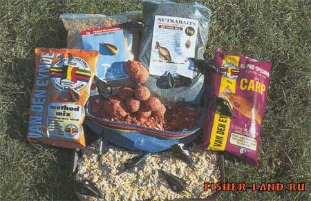 рыбалка рецепты прикормки на карпа